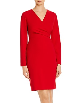 Donna Karan - Faux-Wrap Dress