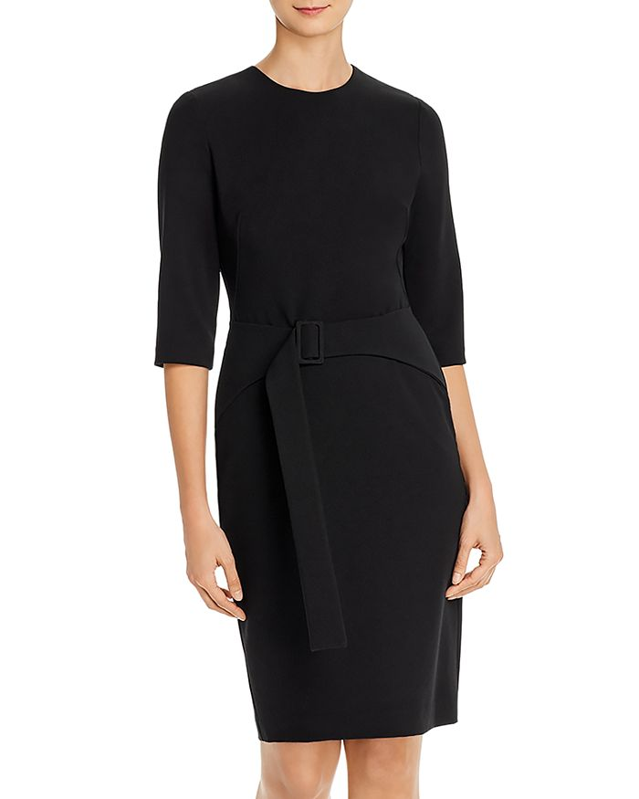 Black Halo - Emma Belted Dress
