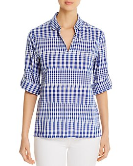 Tommy Bahama - Ikat Me Not Collared Top