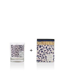 MAISON LA BOUGIE - Leopard Blue Collection