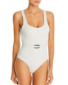 Palm Swimwear - Maya Belted One Piece Swimsuit