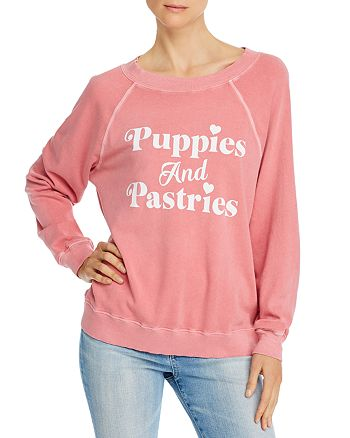WILDFOX - Sommers Puppies & Pastries Sweatshirt