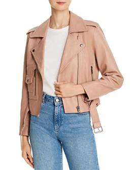Joie - Ondra Leather Moto Jacket