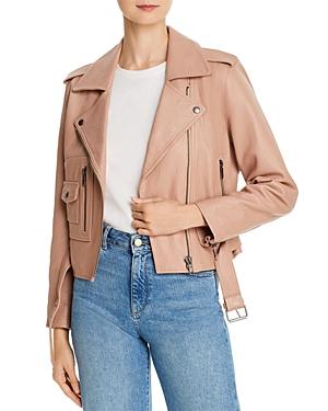 Joie Ondra Leather Moto Jacket-Women