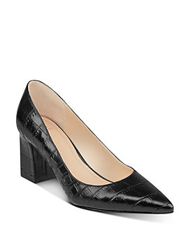 Marc Fisher LTD. - Women's Zala Pointed-Toe Block-Heel Pumps