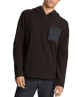 John Varvatos Collection - Easy Slim Fit Hooded Sweatshirt