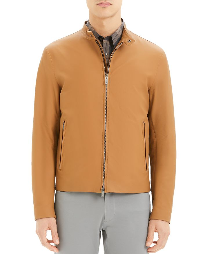 Theory - Wyndsor Regular Fit Moto Jacket