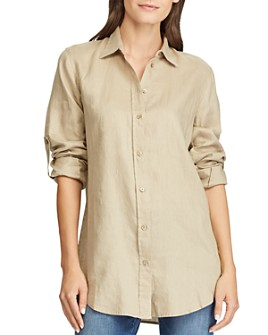 Ralph Lauren - Button-Down Linen Shirt