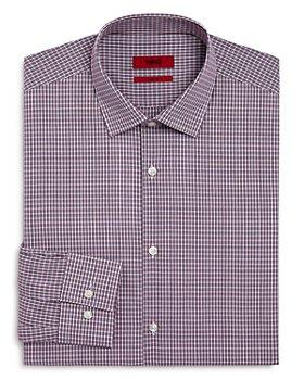 HUGO - Kenno Burg Tattersall Slim-Fit Dress Shirt