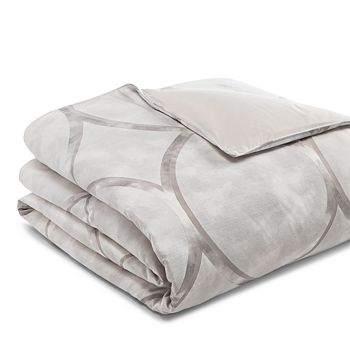 Hudson Park Collection - Linea Geo Duvet Cover, Full/Queen - 100% Exclusive