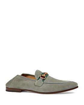 Gucci - Men's Web Brixton Loafers