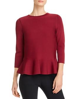 BOSS - Fember Peplum Sweater