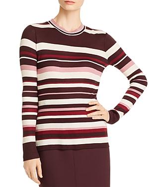 Boss Elauren Ribbed Stripe Sweater