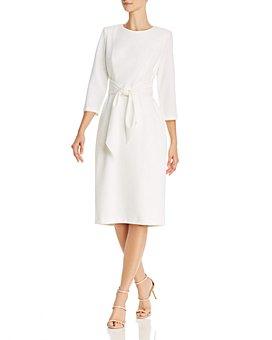 Adrianna Papell - Tie-Waist Dress