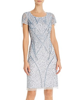 Adrianna Papell - Embellished Sheath Dress