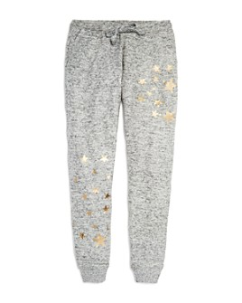 Vintage Havana - Girls' Foil Star Print Jogger Pants - Big Kid