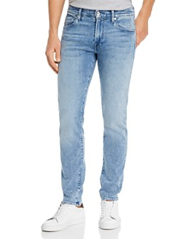 7 For All Mankind - Adrien Luxe Sport Slim Fit Jeans in Sonar