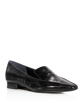 Sigerson Morrison - Women's Calida Pointed Square Toe Loafers