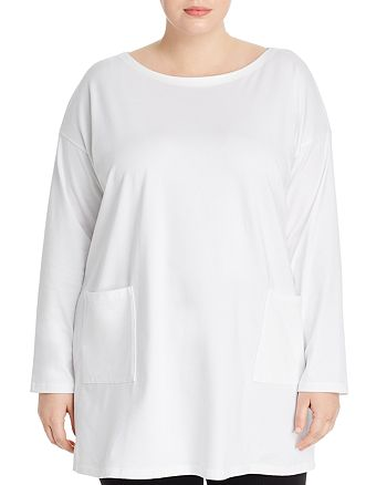 Eileen Fisher Plus - Pocket Tunic Top