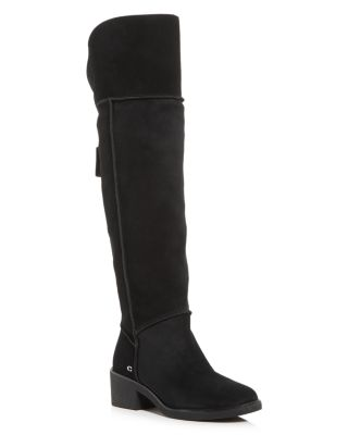 Janelle Shearling Over-the-Knee Boots