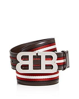 Bally - Men's Mirror B Reversible Leather Belt