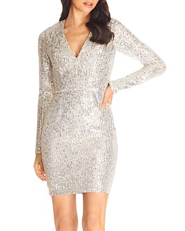 Dress the Population - Shauna Sequined Mini Dress - 100% Exclusive