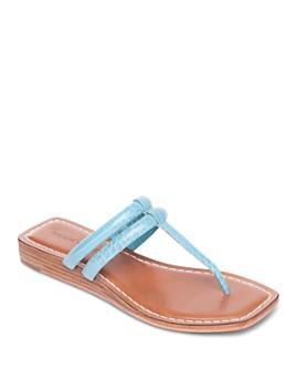 Bernardo - Women's Ozette Thong Wedge Sandals