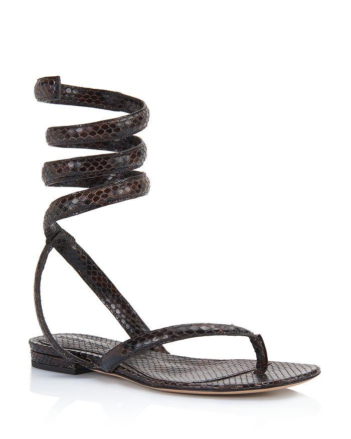 Bottega Veneta - Women's Ankle Wrap Sandals