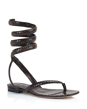 Bottega Veneta Women's Ankle Wrap Sandals
