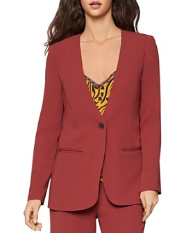 BCBGENERATION - Collarless One-Button Blazer