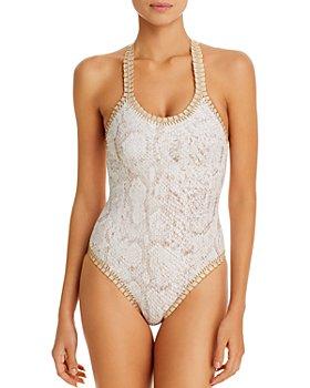 Platinum inspired by Solange Ferrarini - Copra One Piece Swimsuit - 100% Exclusive