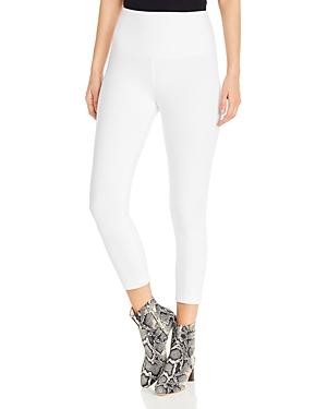 Lysse Cotton Stretch Cropped Leggings