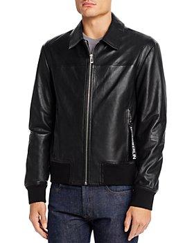 HUGO - Lowes Leather Slim Fit Jacket