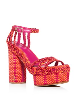 ANTOLINA - Women's Erika 130 Woven High Block -Heel Platform Sandals