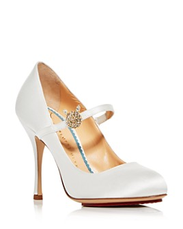 Charlotte Olympia - Women's Mary Jane High-Heel Pumps