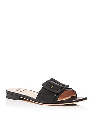 Bally Women's Janna Buckle Slide Sandals