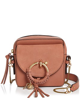 See by Chloé - Joan Small Leather & Suede Crossbody