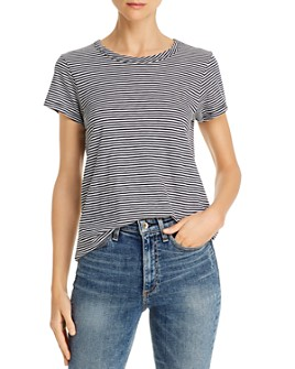rag & bone - Striped Crewneck Tee