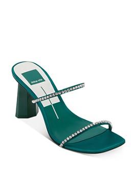Dolce Vita - Women's Naylin Crystal-Embellished High-Heel Sandals