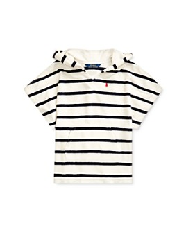 Ralph Lauren - Girls' Striped Terry Swim Cover-Up - Little Kid