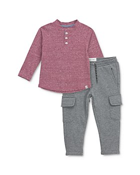 Sovereign Code - Boys' Fender Henley Tee & Trench Cargo Jogger Pants - Baby