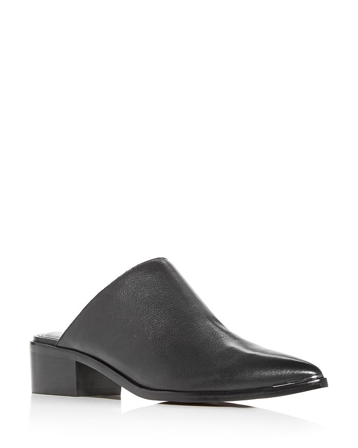 Marc Fisher LTD. - Women's Young Pointed-Toe Block-Heel Mules