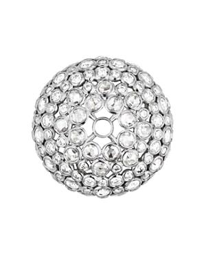 18K White Gold Pneu Diamond-Encrusted Beads