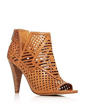 VINCE CAMUTO - Women's Allistan Peep-Toe High-Heel Booties