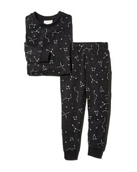 Bloomie's - Unisex Constellation Print Tee & Constellation Print Pants Pajama Set, Baby - 100% Exclusive