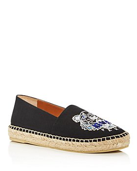 Kenzo - Women's Tiger-Embroidered Espadrille Flats