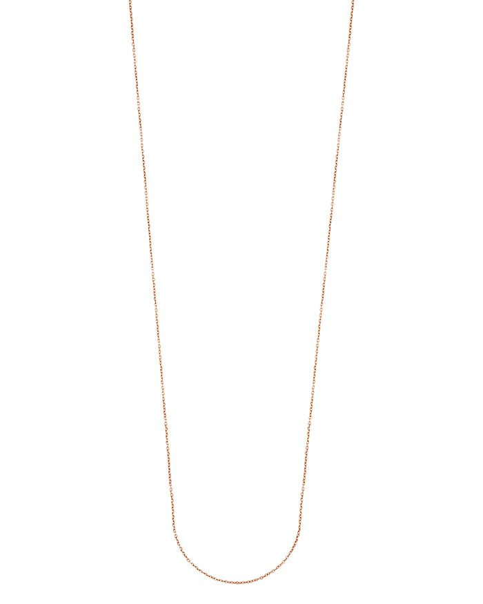 """TOUS - 18K Rose Gold-Plated Sterling Silver Chain Necklace, 33.5"""""""