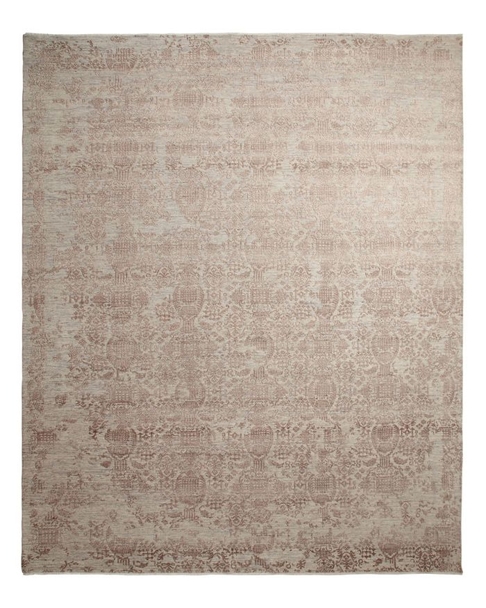 Bloomingdale's Transitional 805196 Area Rug, 10' X 14' - 100% Exclusive In Gray