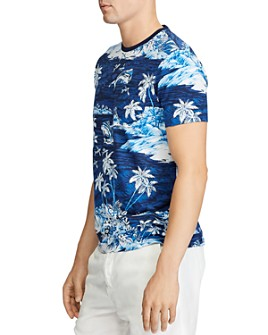 Polo Ralph Lauren - Tropical-Print Classic Fit Tee