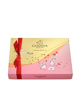 Godiva® - Valentine's Day Assorted Chocolate Gift Box, 20 Pieces